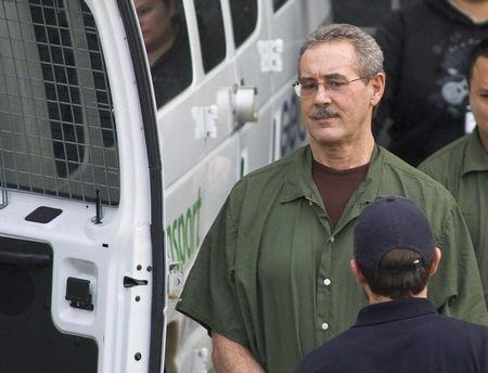 Allen Stanford leaves the Federal Courthouse where the jury found him guilty, in Houston