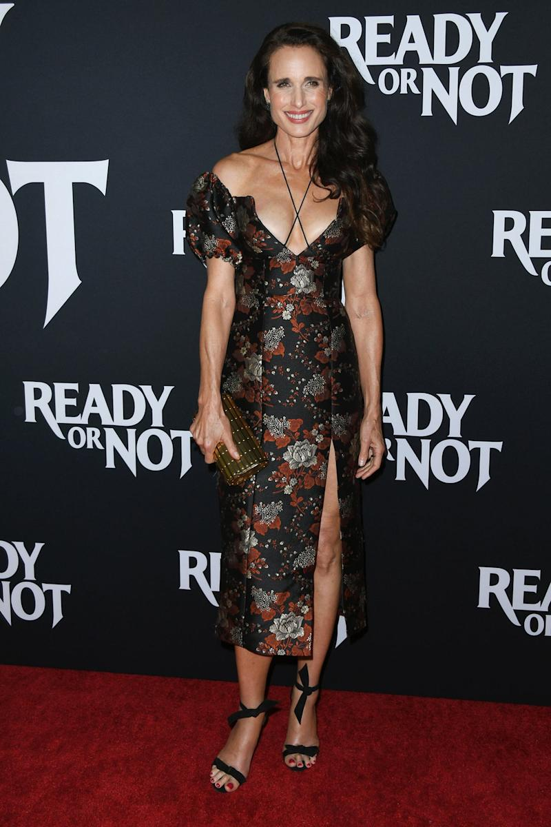 At 61, Andie MacDowell Proves the Enduring Power of a Leg Reveal