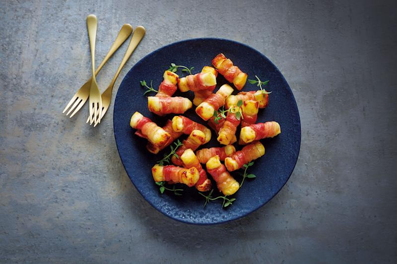 Aldi's halloumi based pigs in blankets (Photo: Aldi)