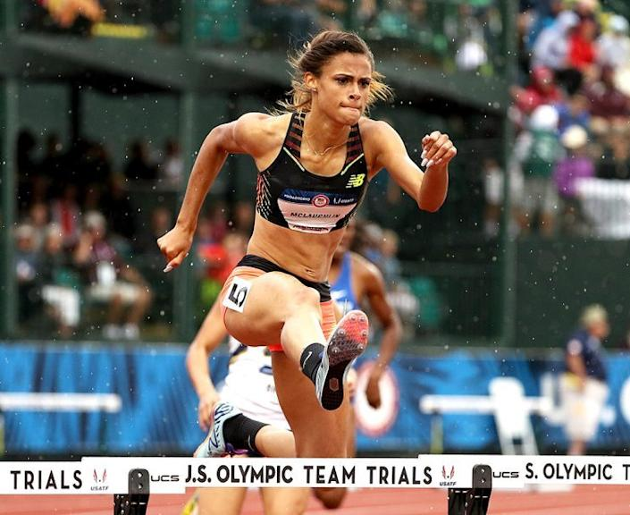 Sydney McLaughlin is a world-class athlete, but she loves sugar. (Photo: Patrick Smith/Getty Images)