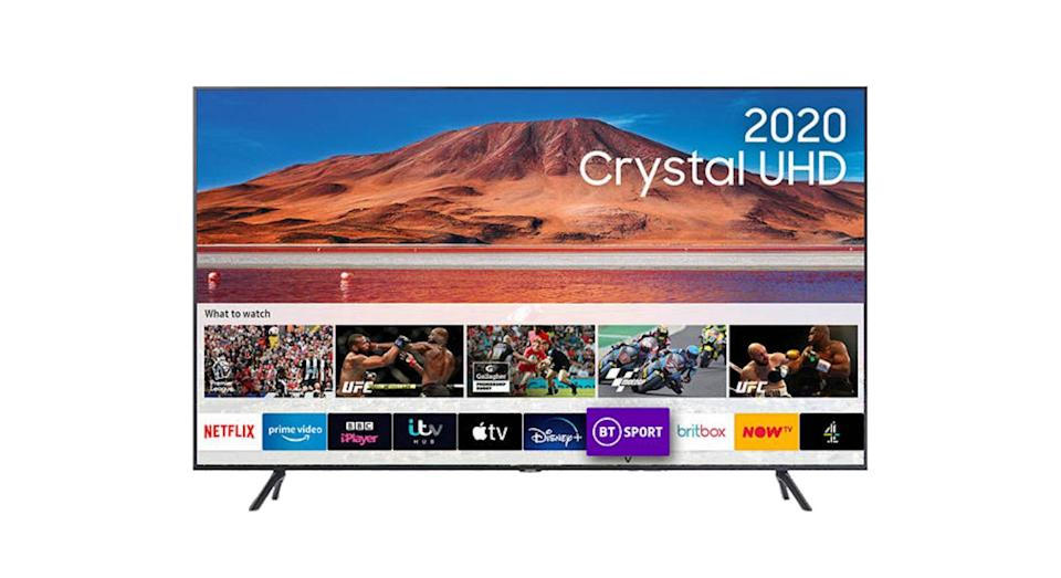 Samsung UE43TU7100 (2020) HDR 4K Ultra HD Smart TV