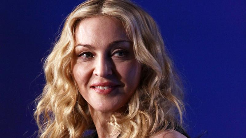 Madonna looking sideways