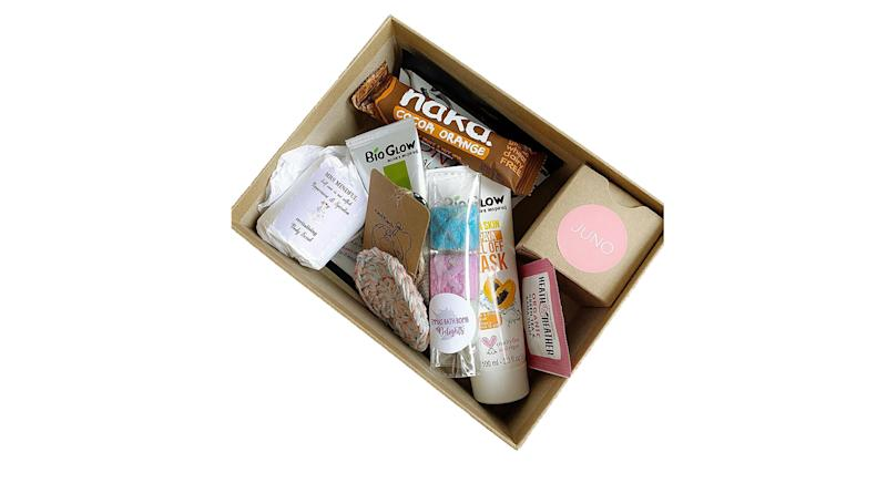 Positivity Pamper Box Vegan Gift