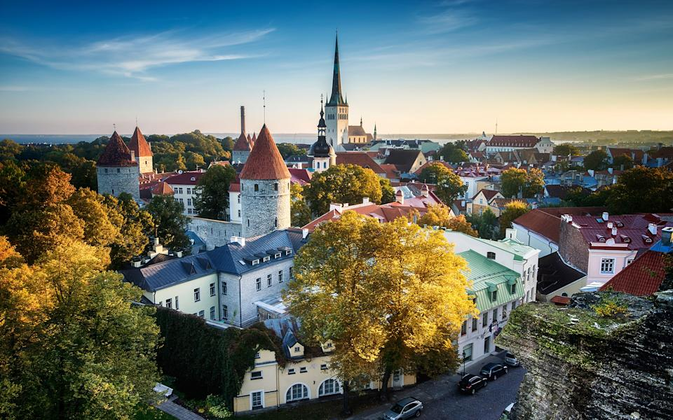 You could spend your weekends wandering Tallinn's old town - Getty