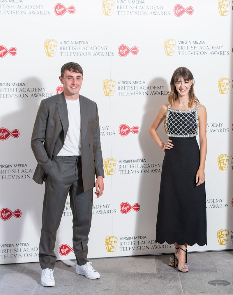 Paul and Daisy reunited at last week's BAFTA TV awards - PA