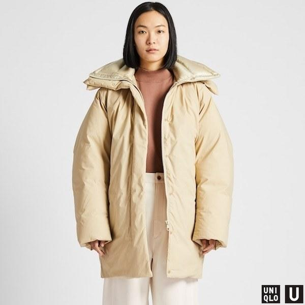 """Puffer or blanket? The world is your oyster. $129.9, Uniqlo. <a href=""""https://www.uniqlo.com/us/en/women-u-padded-parka-421058.html"""">Get it now!</a>"""