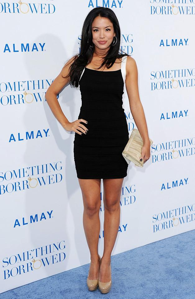 "Stephanie Jacobsen attends the Los Angeles premiere of <a href=""http://movies.yahoo.com/movie/1810158033/info"">Something Borrowed</a> on May 3, 2011."