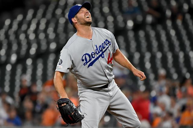 Rich Hill (Photo by Will Newton/Getty Images)