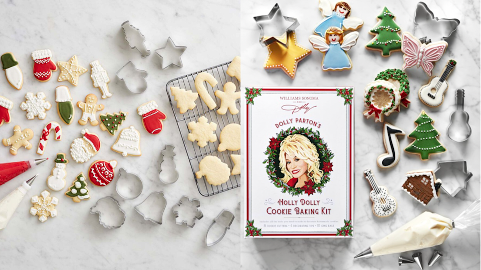 Gifts for bakers: Holiday Cookie Cutters