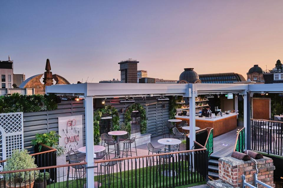 <p>Feeling lucky? This rooftop sits on Leicester Square's Hippodrome casino and has a Tanqueray pop-up throughout summer. With the Tanqueray Passion and Tanqueray Mojito, this three tier terrace is a gin-lover's paradise.</p>