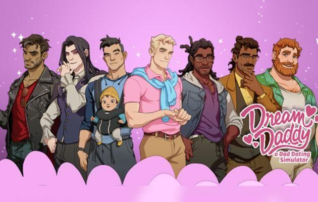 There are 7 dateable dads to choose from. Photo: Stream