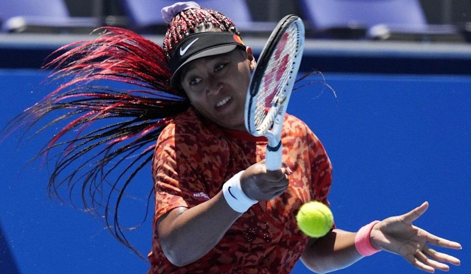 Naomi Osaka is expected to be among the leading Japanese hopes at the Games. Photo: AP