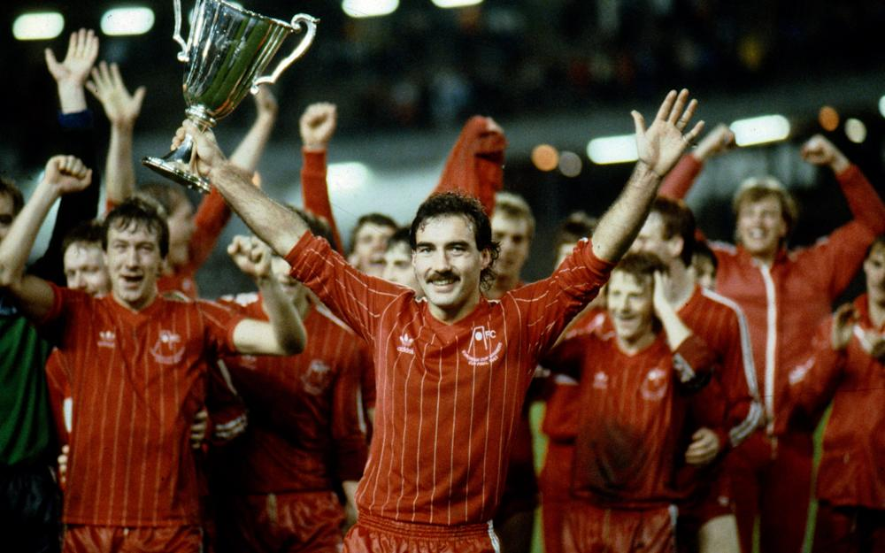 Alex Ferguson's Aberdeen team, captained by Willie Miller, defeated Real Madrid 2-1 in the Cup Winners' Cup in 1983 - Credit: GETTY