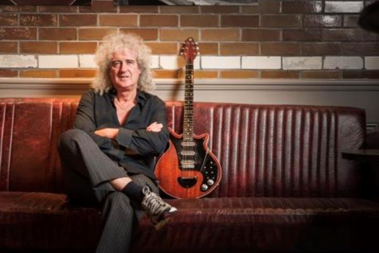 """Brian May, lead guitarist of Queen, calls his song """"Too Much Love Will Kill You"""" a """"tombstone song."""""""