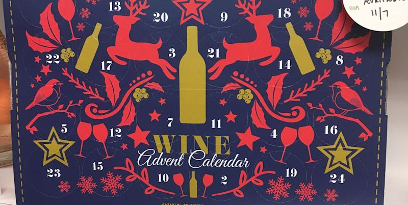 Aldi Cheese Advent Calendar.Aldi S Famous Wine And Cheese Advent Calendars Are Officially In