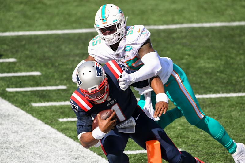 Julian Edelman isn't concerned with Cam Newton's high-volume rush attempts