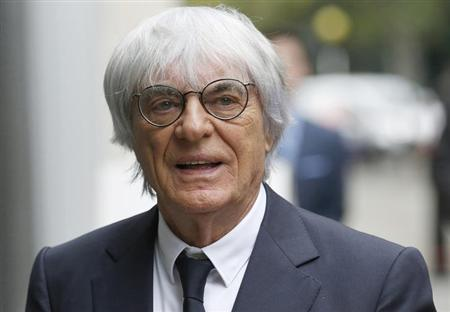 Formula One Chief Executive Bernie Ecclestone arrives at the High Court in central London November 6, 2013. REUTERS/Olivia Harris/Files
