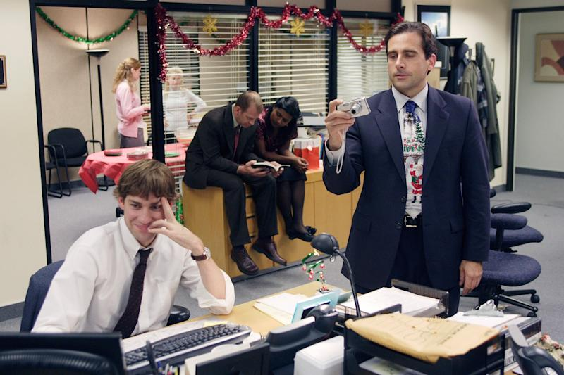 Each year (except during seasons one and four), the set of The Office would be decked out for the Christmas episode.