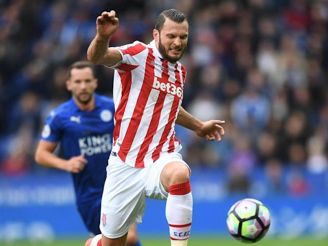 Stoke's Erik Pieters should earn a clean sheet against Hull (Getty)
