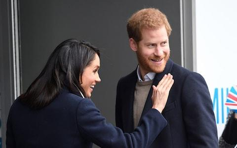 Prince Harry and Meghan Markle in Birmingham - Credit: WireImage
