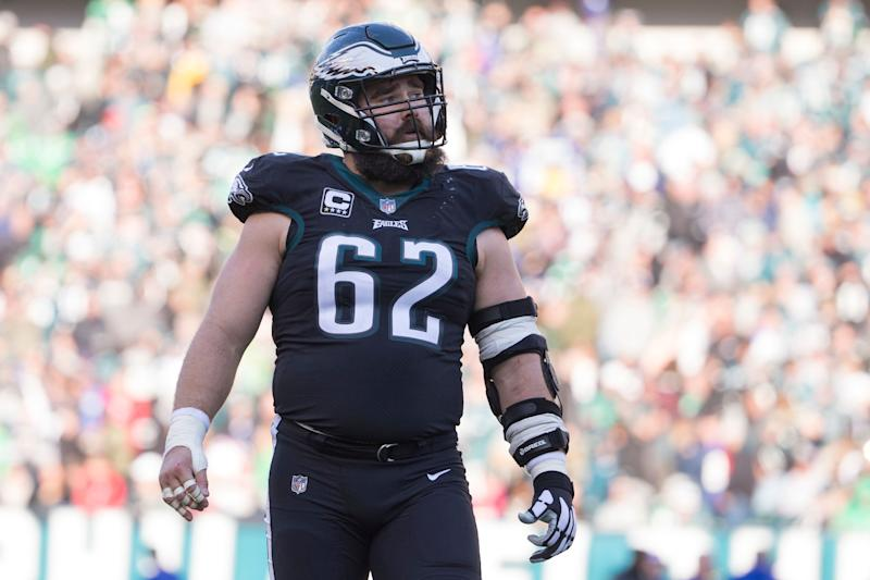 the latest b42d2 48317 Eagles' Jason Kelce now highest-paid center in NFL
