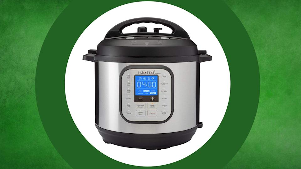 Instant Pot Duo Nova 7-in-1 Electric Pressure Cooker is on sale at Amazon, $80 (originally $90).