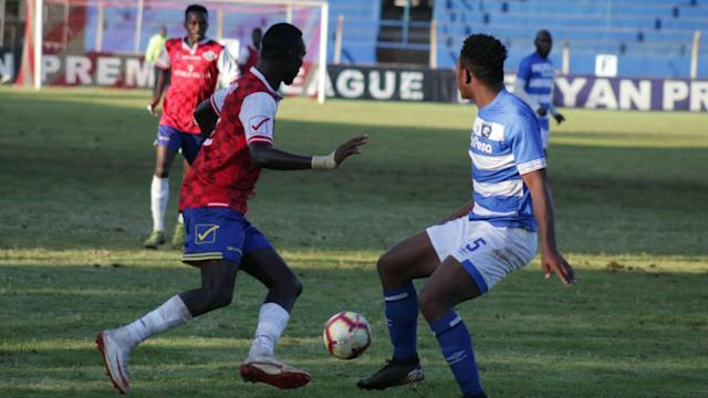 The rivals fought each other in the sixth match of the top-flight Kenyan season