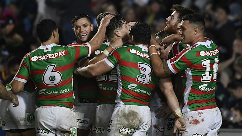Rabbitohs leave it late to beat Cowboys, Roosters and Raiders march on