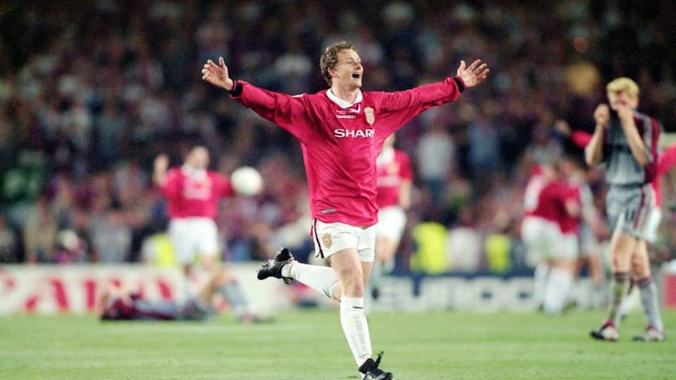 Ole Gunnar Solskjaer 1999 UEFA Champions League Final | Getty Images/Getty Images