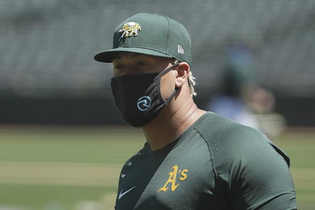 A's name exhibition starters - and Frankie Montas looks primed to go in opener