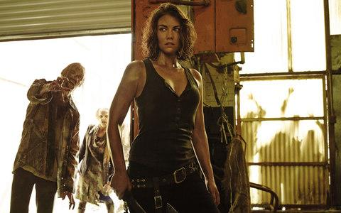 Maggie has shown herself to be a match for the Walkers - Credit: AMC
