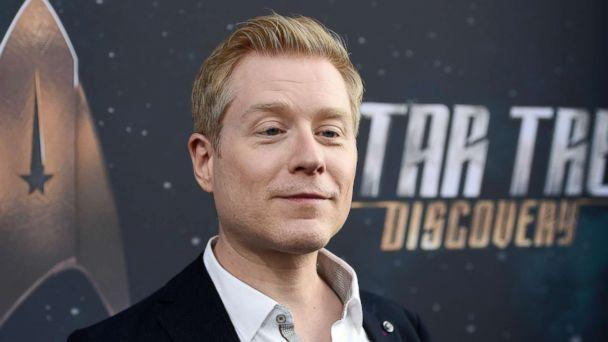 PHOTO: Anthony Rapp, cast member in 'Star Trek: Discovery,' poses at the premiere of the new television series in Los Angeles, Sept. 19, 2017. (Chris Pizzello/Invision/AP, FILE)
