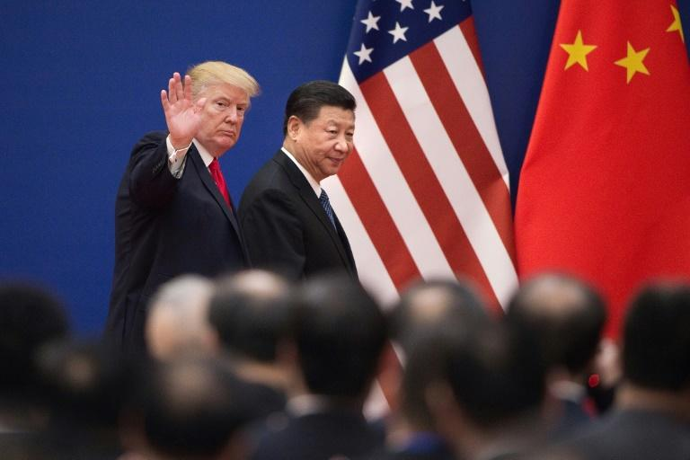 In China, Trump was gushing in his praise of his counterpart Xi Jinping