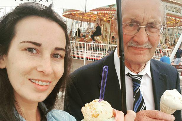 Keith Murgatroyd, 80, and his daughter Sophie. (MEN)