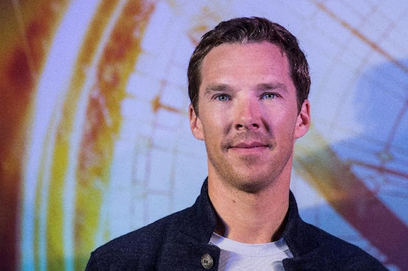 """British actor Benedict Cumberbatch said he did most of his own fight scenes for Marvel's """"Doctor Strange"""" as he promotes the movie durinig a visit to Hong Kong, on October 13, 2016"""