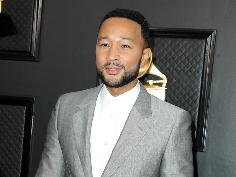 John Legend and Bette Midler react as President Trump is acquitted in impeachment trial