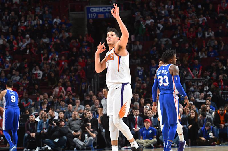 Suns: Devin Booker out 2-3 weeks