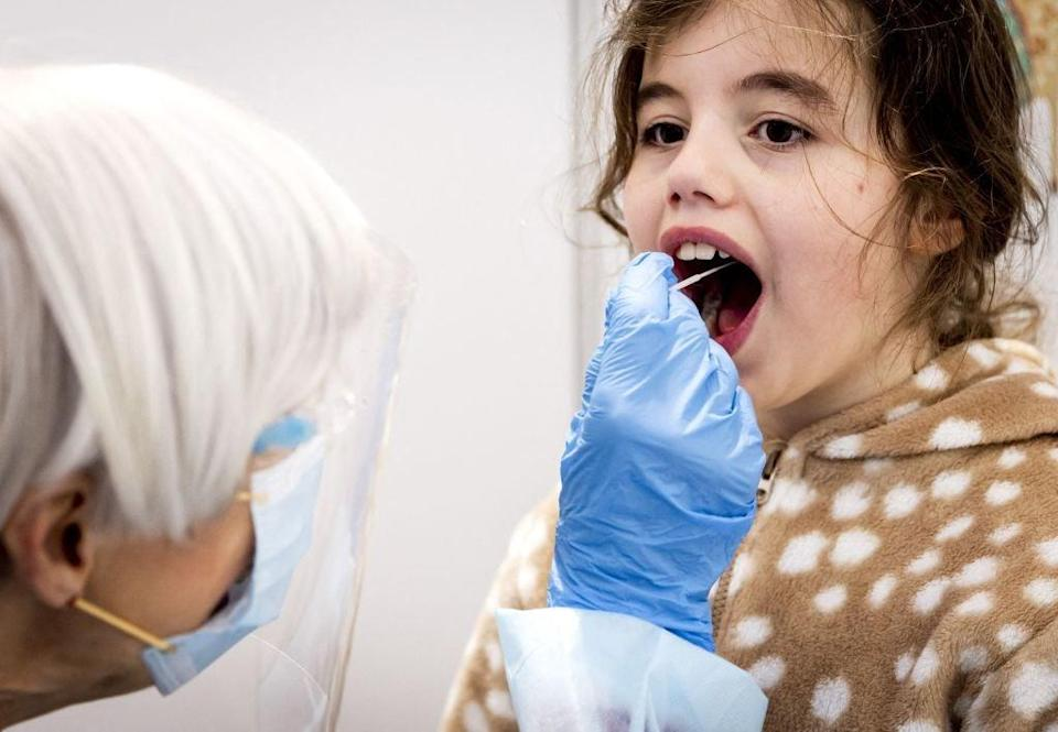 Child death rates, as a result of coronavirus, remain low in the US (ANP/AFP via Getty Images)
