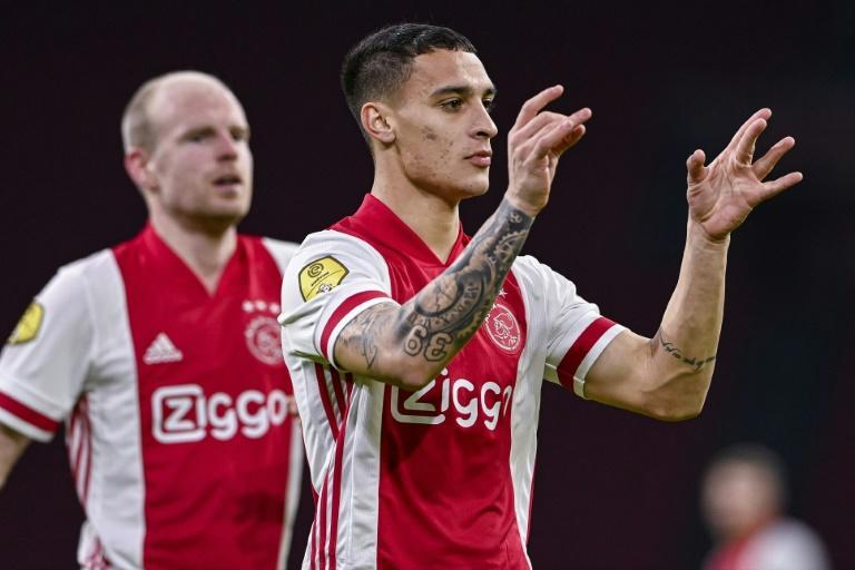 Ajax are a point clear of PSV before the sides meet on Sunday