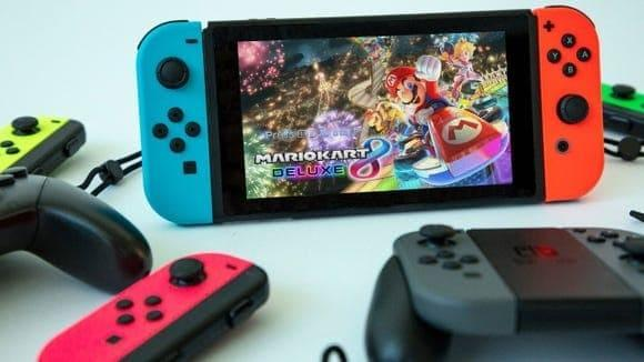 Best gifts to send 2021: Nintendo Switch.