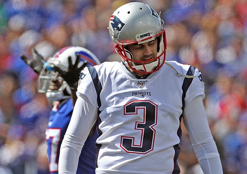 Kicker shakeup shrouded in typical Patriots secrecy