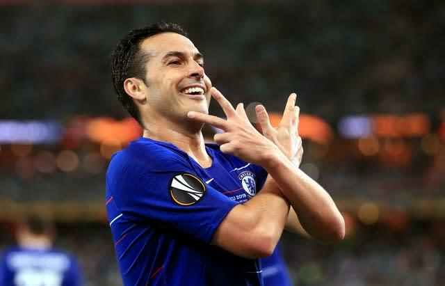 Chelsea's Pedro is believed to have signed a deal to join Roma (Adam Davy/PA)