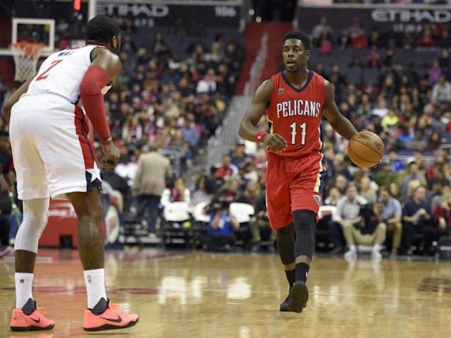 Jrue Holiday will be a free agent after this season. (AP)