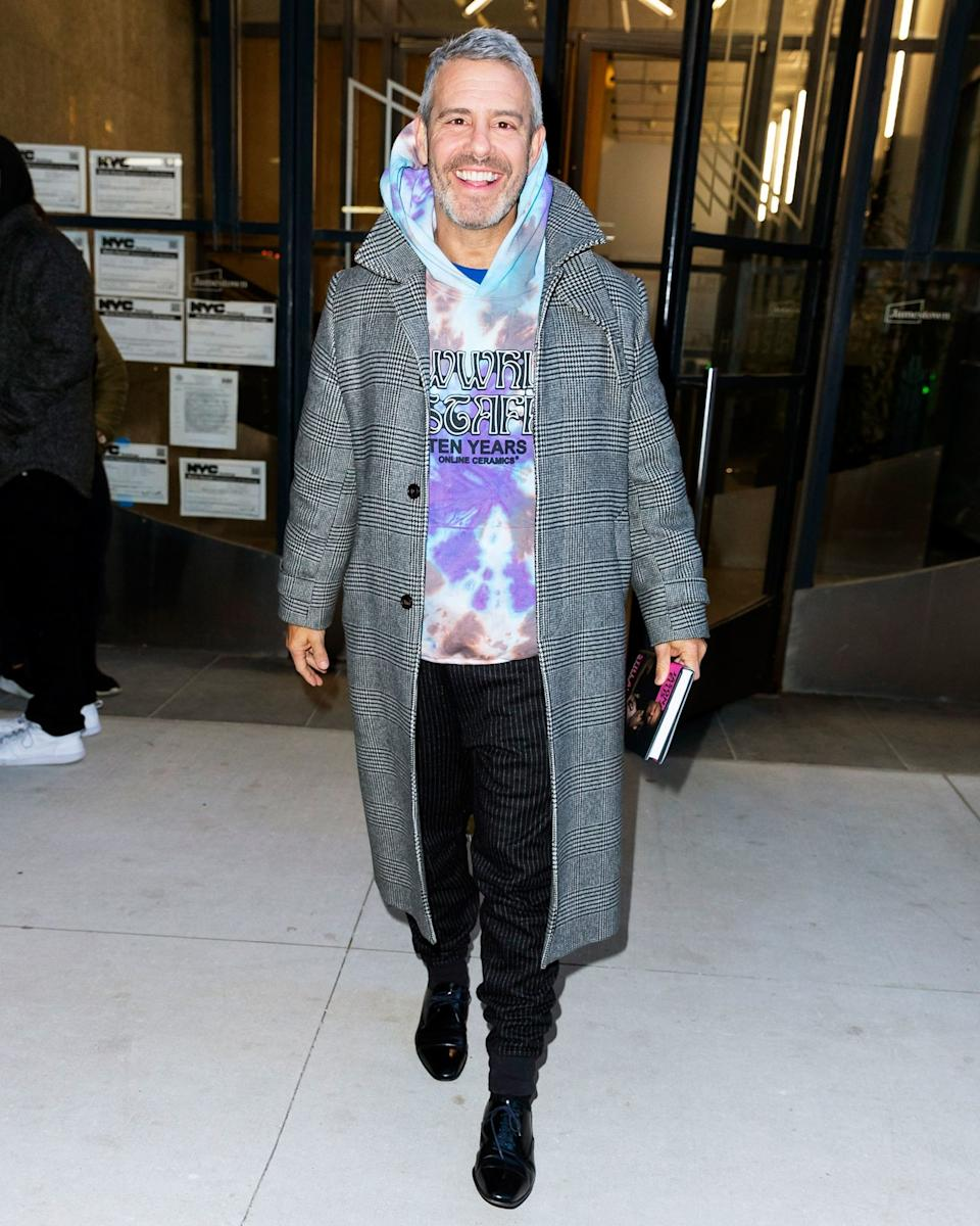 Andy Cohen, welcome to the hippie resistance.