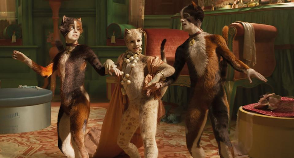 'Cats'. (Credit: Universal Pictures)