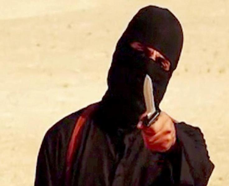 """""""Jihadi John"""" was known as the executioner of the Islamic State group appearing masked in a string of videos showing the beheadings of Western hostages (AFP Photo/)"""
