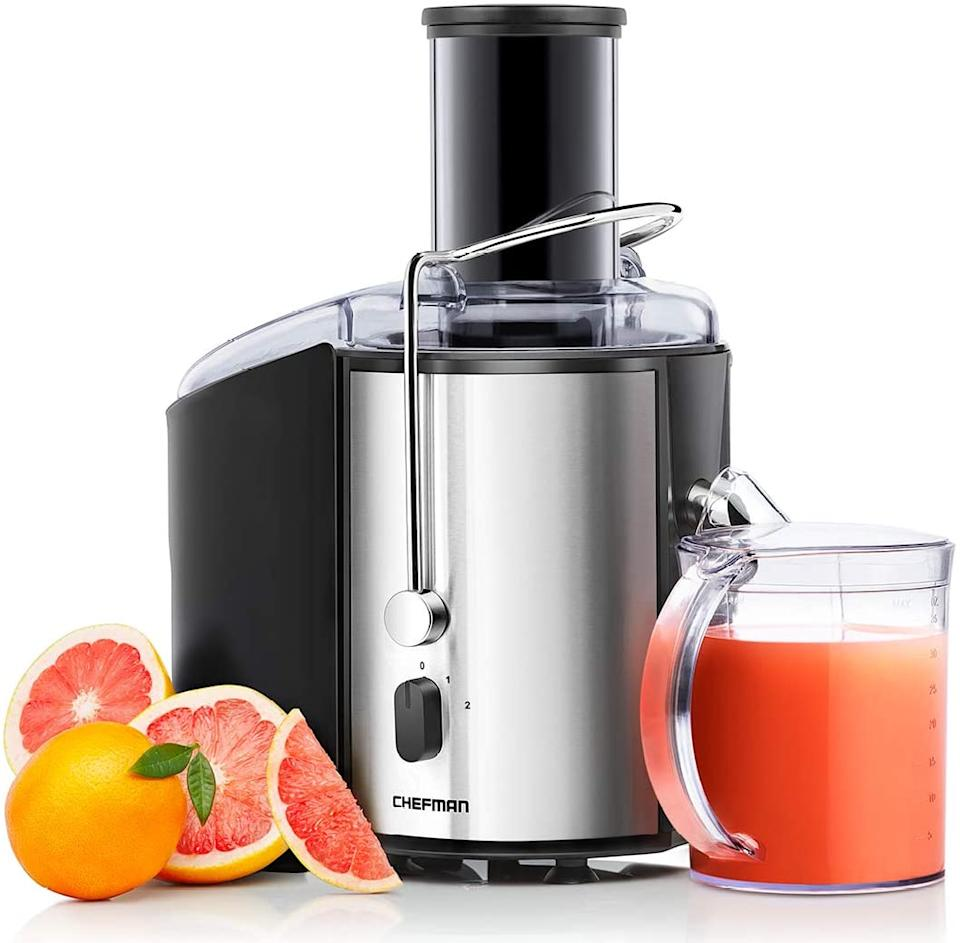 This Chefman 2-Speed Electric Juicer is 40 percent off for Prime Day. (Photo: Amazon)