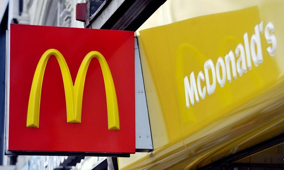 McDonald's this week ran out of milkshakes and bottled drinks as it prioritised deliveries of other products (Nick Ansell/PA) (PA Wire)