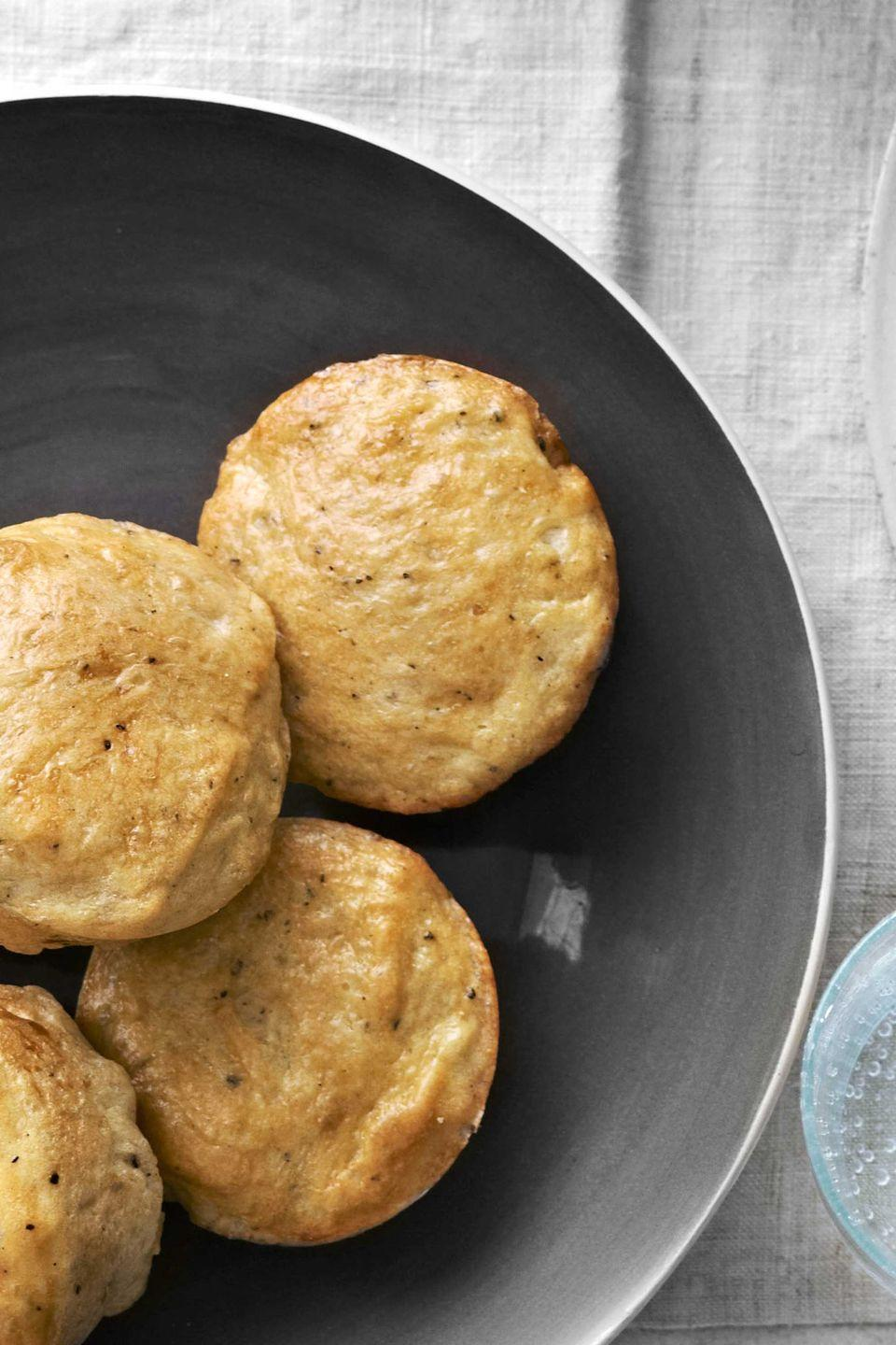 "<p>A hint of spicy black pepper adds a kick to these traditional dinner rolls.</p><p><strong><a href=""https://www.countryliving.com/food-drinks/recipes/a4256/cracked-pepper-dinner-rolls-recipe-clv1112/"" rel=""nofollow noopener"" target=""_blank"" data-ylk=""slk:Get the recipe"" class=""link rapid-noclick-resp"">Get the recipe</a>.</strong></p>"