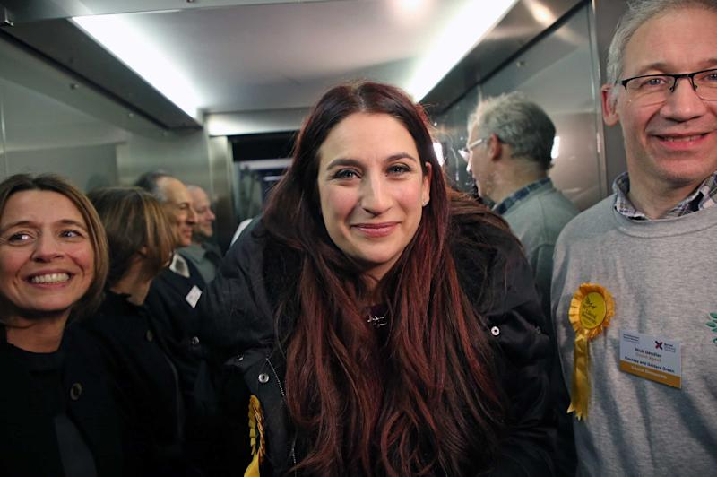 Luciana Berger failed to gain a seat in Finchley (NIGEL HOWARD)